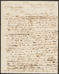 Draft Copy of a Letter Signed by Chief John Ross and Others