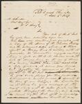 Letter from Chief John Ross to General Matthew Arbuckle