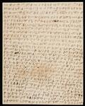 Document in Cherokee syllabary signed by Charles Thompson