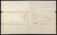 Resolution of General Council of Cherokees granting S.A. Worcester permission to erect printing press