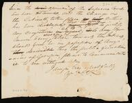 Unsigned Copy of Letter to William H. Underwood, Esquire