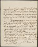 Copy of Letter from Secretary of State Joel Roberts of Poinsett to Cherokee Delegation