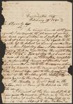 Letter from Chief John Ross to John Alexander