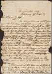 Letter from Chief John Ross to John Alexander