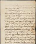 Letter from Chief John Ross to Colonel Thomas McKenney (Kenahlea)