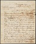 Letter from Chief John Ross to William Potter Ross