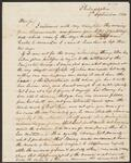 Letter from Thomas J. Hindman to Chief John Ross