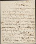 Letter from Chief John Ross to Miss L. F. Stapler