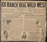 101 Ranch Help Wanted Newspaper Advertisement