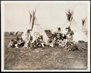 Unidentified Native American camp