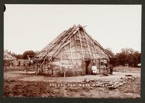 Sac and fox bark house