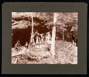 J.W. Jordan, et al. at Barker Outlaw Cave