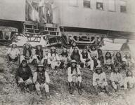 Geronimo and Nachete after their capture