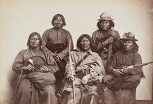 Apache Braves, possibly featuring Geronimo
