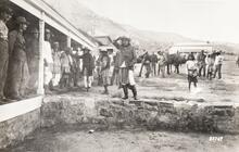 Geronimo's farewell to Arizona, Fort Bowie, Arizona
