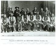 Delegation of Cheyenne and Arapaho