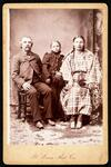 Jacob Zalleweger and Cheyenne wife and daughter