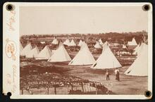 Comanche Town near Fort Sill, I.T.
