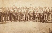 Creek ball players, Muskogee