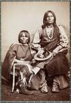 Chief Trotting Wolf and woman