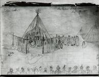 An Indian death ceremony