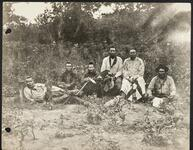 Unidentified group of Osage men