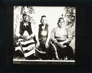 Three unidentified Osage men