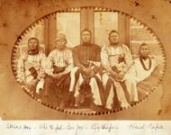 Strike Axe, Che-to-pa, Gov. Joe, Big Chief and Hand Rope