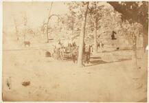 Osage group on wagon