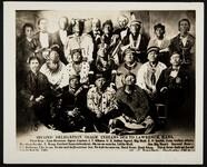 Second Delegation, Osage Indians, Lawrence, Kansas