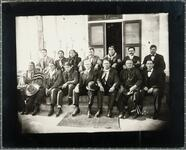 Osage group including Chief Fred Lookout