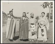 Four unidentified Osage women