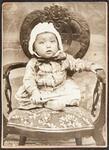 Baby with bonnet, Fairfax, Oklahoma