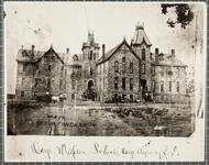Mission school house, Osage Agency