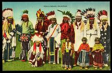 Ponca Indians, Oklahoma
