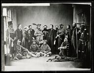 Commisioner and delegation of Sauk and Fox chiefs, including Grey Eyes and Chick-o-skuck, Washington D.C.