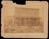Store at Sasakwa, Seminole Nation, John F. Brown and Bro