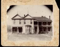 Home of John F. Brown, Seminole Principal Chief, near Sasakwa, Oklahoma