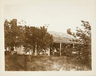 Residence of Secretary of Seminole Indians, Indian Territory