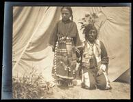 Possibly Chasing Horse and Sioux girl, Brule