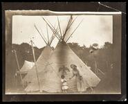 Unidentified Sioux woman and child