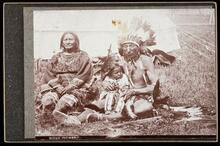 Unidentified Sioux family