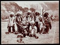 Long Pumpkin, Dog Horn, Holy man, Red Tomahawk, Flat Iron, et al