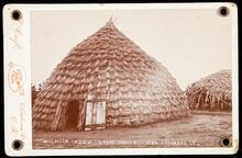 Wichita Indian grass house near Anadarko, I.T.