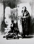 Mrs. Jim Tawakonie and unidentified Wichita woman