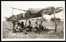 Indian Camp Scene