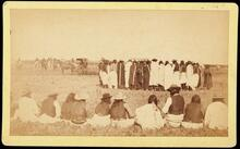 Large unidentified Native American group