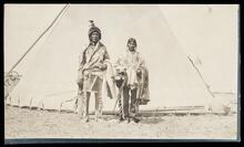 Unidentified Native American couple