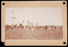 Ponca Indian Dancing Grounds, Ponca Reservation, O.T.