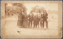 Unidentified Osage family